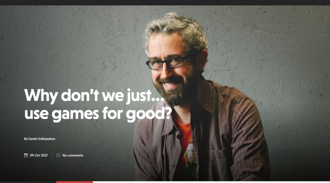Why don't we just… use games for good? – Big Issue North